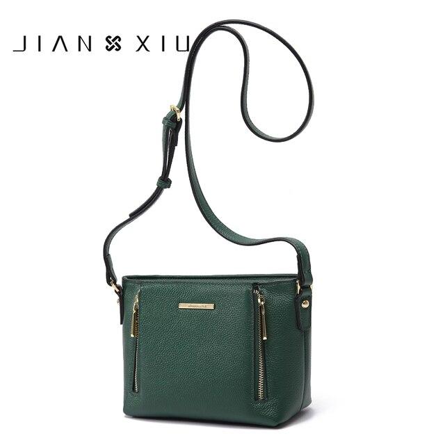 5ed7fdac5 JIANXIU Women Messenger Bags Shoulder Genuine Leather Crossbody Bag Bolsas  Bolsa Sac Femme Bolsos Mujer 2017 Small Tassen Bolso