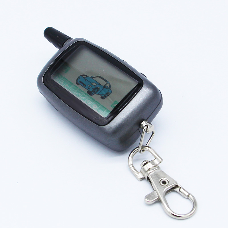 <font><b>Starline</b></font> <font><b>A9</b></font> LCD Remote Controller Keychain /Remote Key Chain Fob for Vehicle Security Two Way Car Alarm System <font><b>Starline</b></font> <font><b>Twage</b></font> <font><b>A9</b></font> image