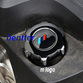 Znic Alloy M power Motosports car oil cap sticker for BMW E60 E87 E90 E70 E71 E61 E65 E85 F01 F30 F10 F20 X1 X3 X5 X6