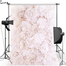 hot deal buy flower for wedding vinyl photography background floral oxford backdrop for children photo studio props 2114