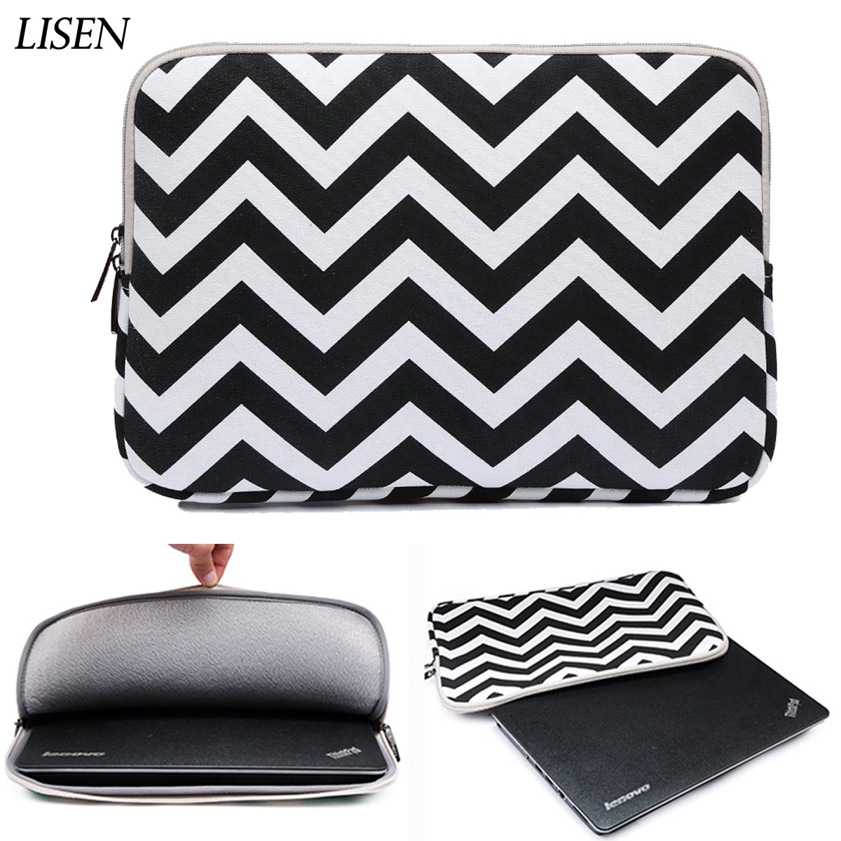 Laptop bag Sleeve Case For Macbook Air Pro Retina 11 11.6 12 13 13.3 15 15.4 Notebook for ipad mini 7.9 ipad air 9.7 table cover