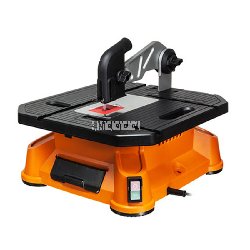 WX572 Multifunctional Table Panel Saw Curve Saw Woodworking Table Sawing Machine For Wood/PVC/Aluminum/Tile Cutting 220V 650W цена и фото