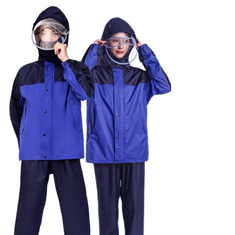 Imperméable Femmes Hommes Longue Transparent ensemble de pluie Couverture Manteau Femmes Femmes manteaux de pluie Imperméable avec Capuche Adultes Reizen Yamurluk X26