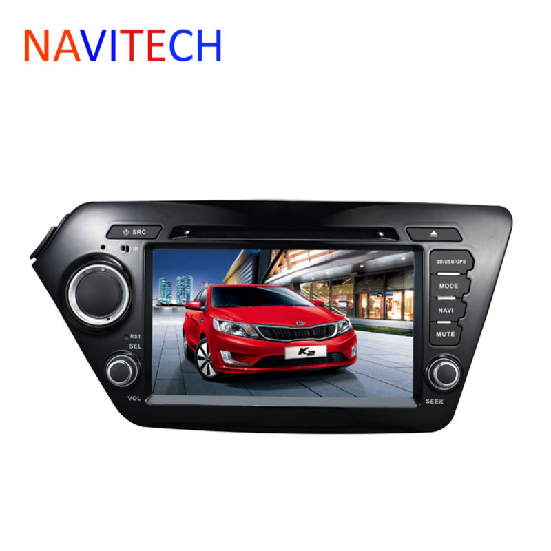for KIA RIO K2 Sedan 2012 2013 2din font b Car b font DVD Player GPS