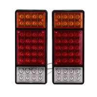 2pcs 36LEDS Car Truck UTE Trailer Buses Rear Tail Lights Indicator Parking Lamps