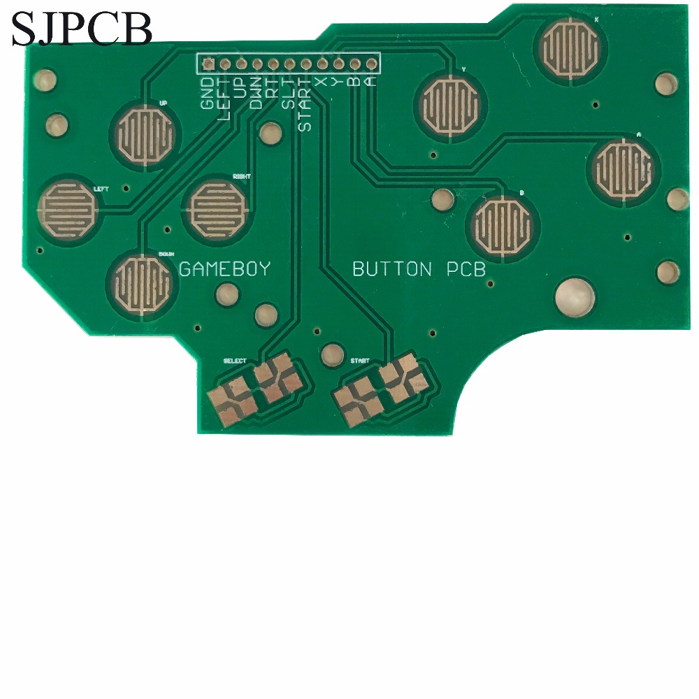 Sjpcb Blue Board Small Quantity Acceptable Customized Panel High Circuit Boards With Eagle Make Highquality Pcbs At Low Cost Game Zero Button Pcb Hasl Prototype And Fast Delivery Various Thickness