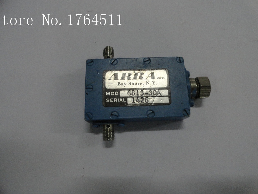 [BELLA] Adjustable Variable Attenuator ARRA 6813-30A 30dB 7.9-8.4GHz Extension
