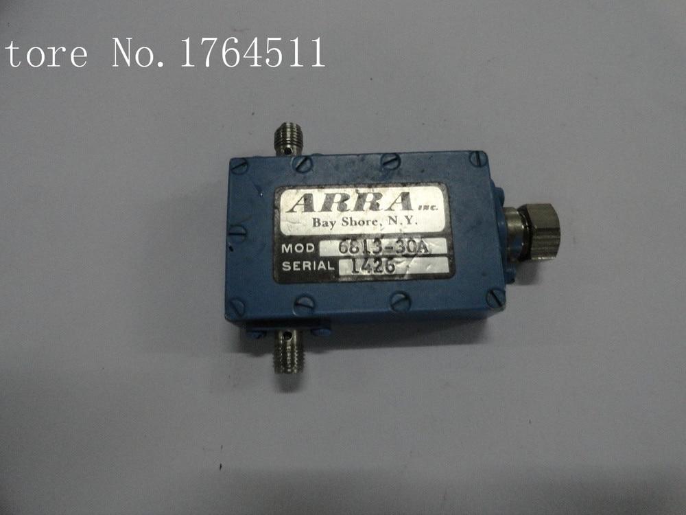 [BELLA] Adjustable Variable Attenuator ARRA 6813-30A 30dB 7.9-8.4GHz Extension