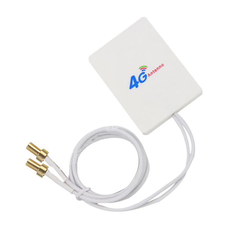 High Quality 2.9m Cables Wire 28dBi 4G 3G LTE 2*TS9 Broadband Antenna Signal Amplifier For Mobile Router Transmission Equipment
