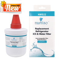 1 Pack Namtso NMS22 Refrigerator Water Filter Smartwater Cartridge Compatible With Samsung DA29 00003G
