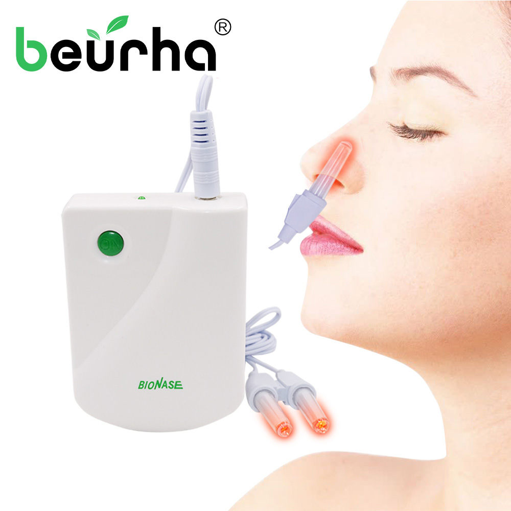 BioNase Nose Rhinitis Sinusitis Cure Therapy Massage Hay fever Low Frequency Pulse Laser HealthCare Machine instrument Massager 翻轉 貓 砂 盆