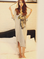Fashion NEW cotton Women's Sleepwear long nightgown Women's Home Clothes