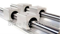 Linear Shaft Support Rails 2pcs SBR30 -L 1500mm+4pcs SBR30UU 30mm Open Linear Bearing Slide Linear Motion for DIY CNC XYZ table