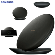 SAMSUNG Original QI Wireless Charger Pad Fast Charging EP-PG950 for Samsung Galaxy S7 edge S8+ S9 S8Plus S6 edge iPhone 8 Plus