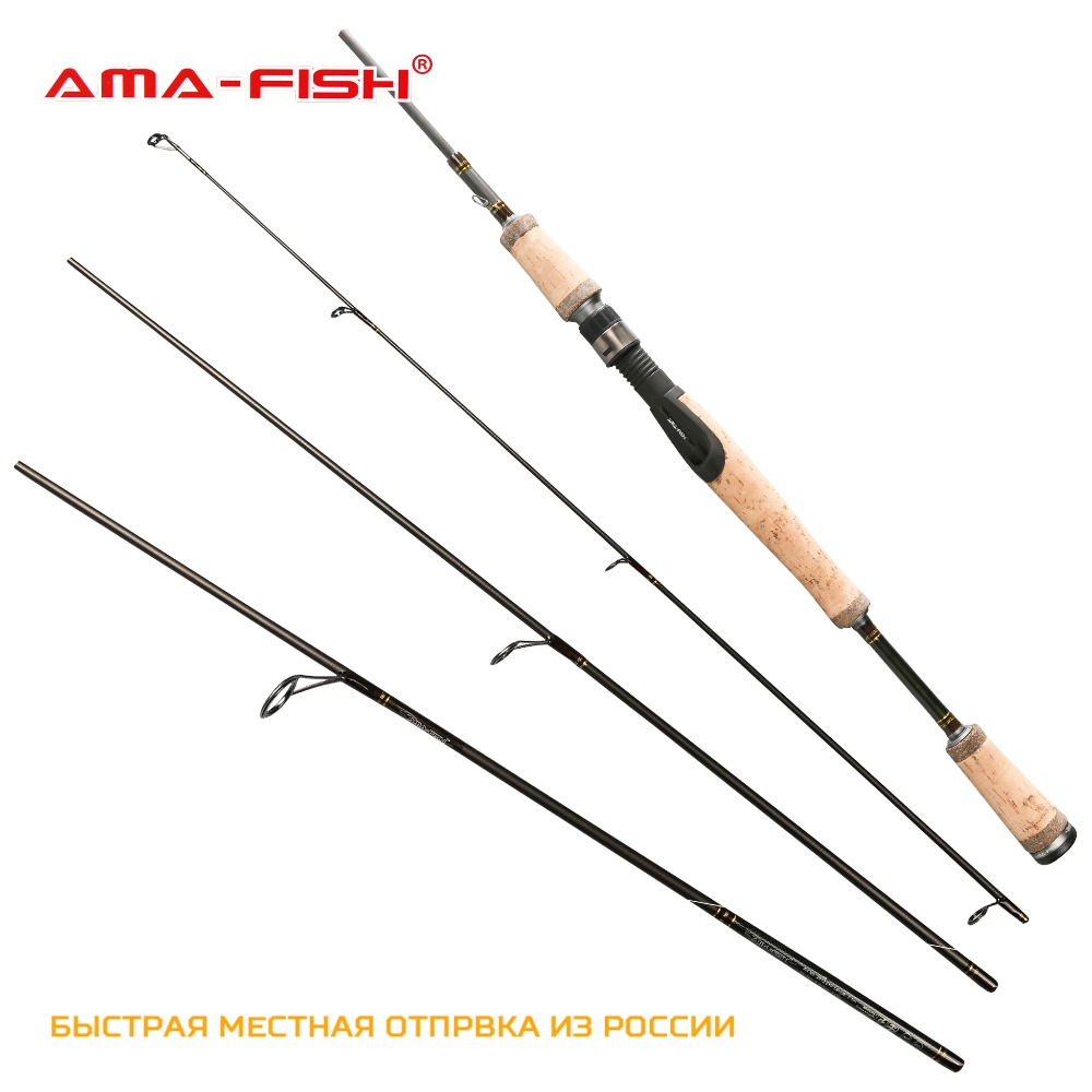 ( Russia Local Delivery) AMA-Fish Brand Spinning Rod 2.1m 4 Sections Carbon Rods ML Fishing Rods 5-20g  Travel Fishing Rod atamjit singh pal paramjit kaur khinda and amarjit singh gill local drug delivery from concept to clinical applications