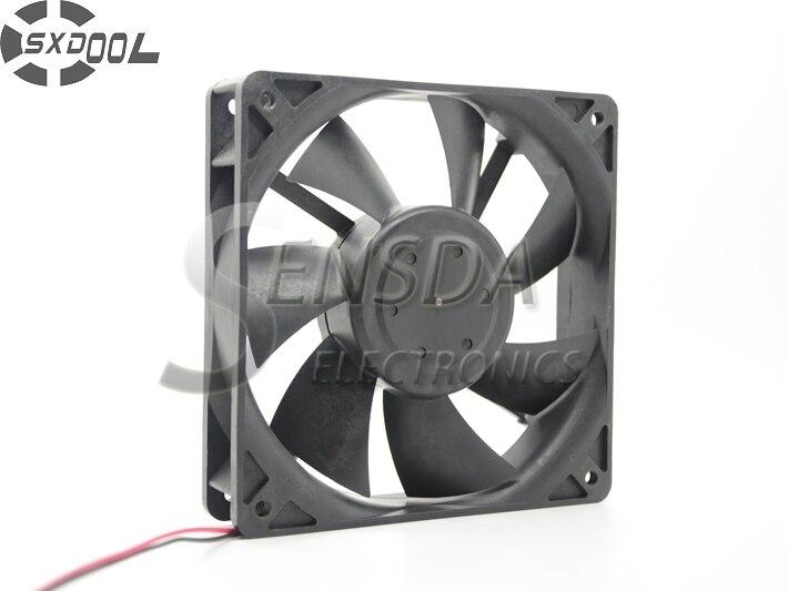 Sxdool вентилятор радиатора 12 см вентилятор охлаждения 12025 120 мм 12 В вентилятор 0.40a двойной шарикоподшипник 2Pin вентилятор