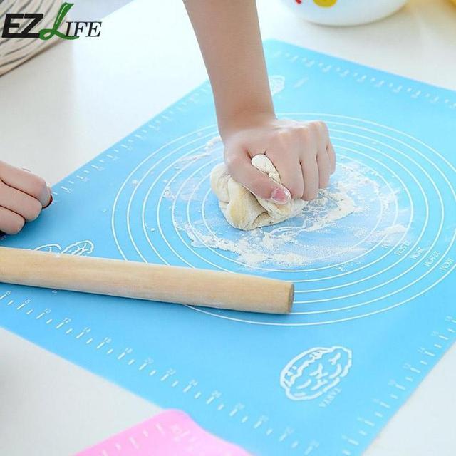 Antiaderente Da Forno In Silicone Zerbino s Torta di Pasta di Rotolamento Del Fondente Impastare Cottura della cucina Zerbino Con Bilancia di Cottura Zerbino per dropshipping