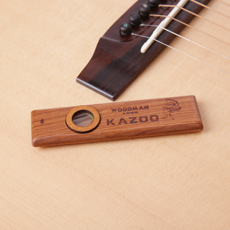 WOODMAN solid wood KAZOO KAZOO guitar accompaniment in Mr Kerry guest Musical Instruments guitar playing partners andrew zebra in the 23 inches mr kerry wood small guitar beginners gray unisex ukraine lili