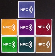 13.56mhz Rfid Label NFC Stickers Tags Ntag216 for the Android NFC Smart phone(China)