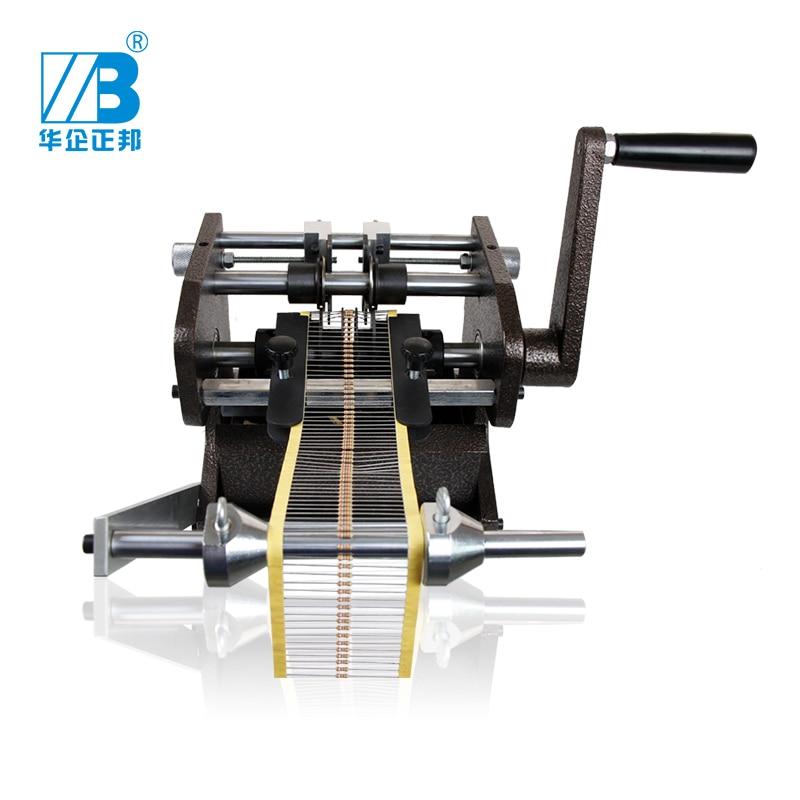 Manual U type bulk taped resistance Resistor cutting forming machine cutter U type belt type forming