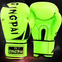 2016 חמה למכירה Guantes כפפות MMA בעיטת אגרוף עור PU דה Boxeo כפפת אגרוף אימוני התאילנדי קראטה טאקוונדו קרבות Boxeo