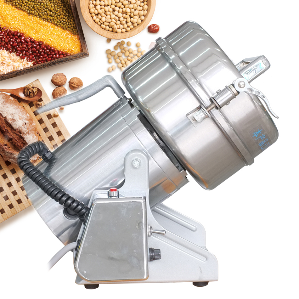 DFY 200C High Quality Electric 200g Swing Stainless Steel Herb Mill Cereal Grinding Machine coffee Grinder