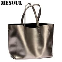 Fashion Women Handbags Genuine Leather Bag Female Shoulder Bags 2017 Summer Large Capacity Casual Tote Luxury