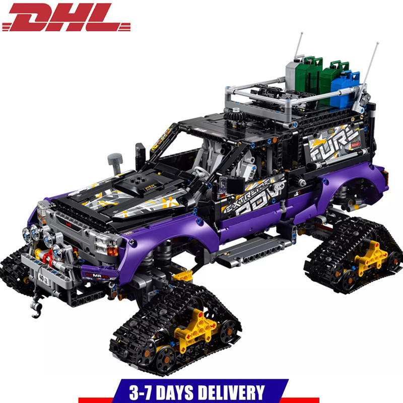 DECOOL Technic Mechanical Ultimate Extreme Adventure Car Building Blocks Sets Kits Bricks Kids Boy Gift Toys Compatible Legoings