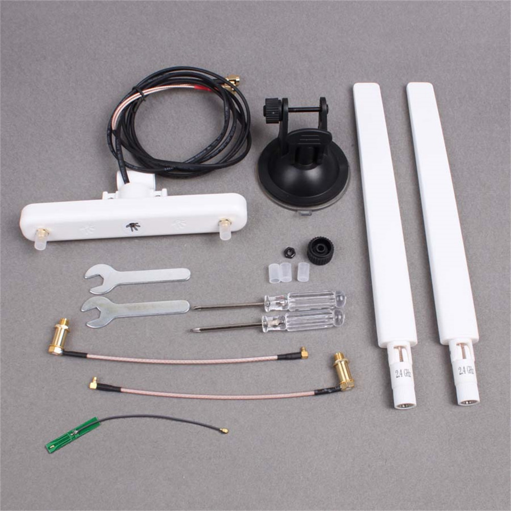 MASiKEN ARGtek 7dBi Omnidirectional Antenna Car Kit for DJI Inspire 1/2, Phantom 4/3 Advanced/Pro Drone cable Accessories