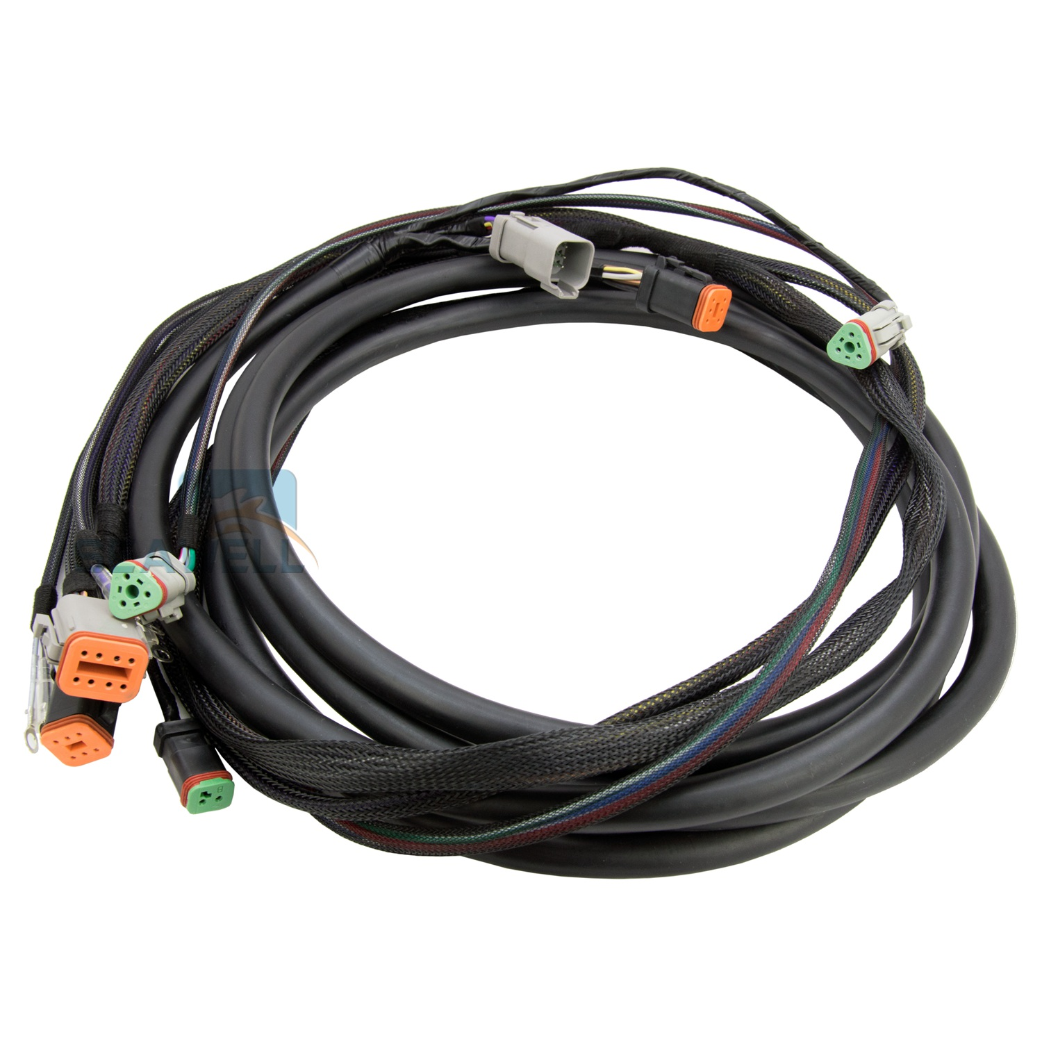 15FT Outboard Main Modular Ignition Wiring Harness Cable For Evinrude Johnson OMC 176340
