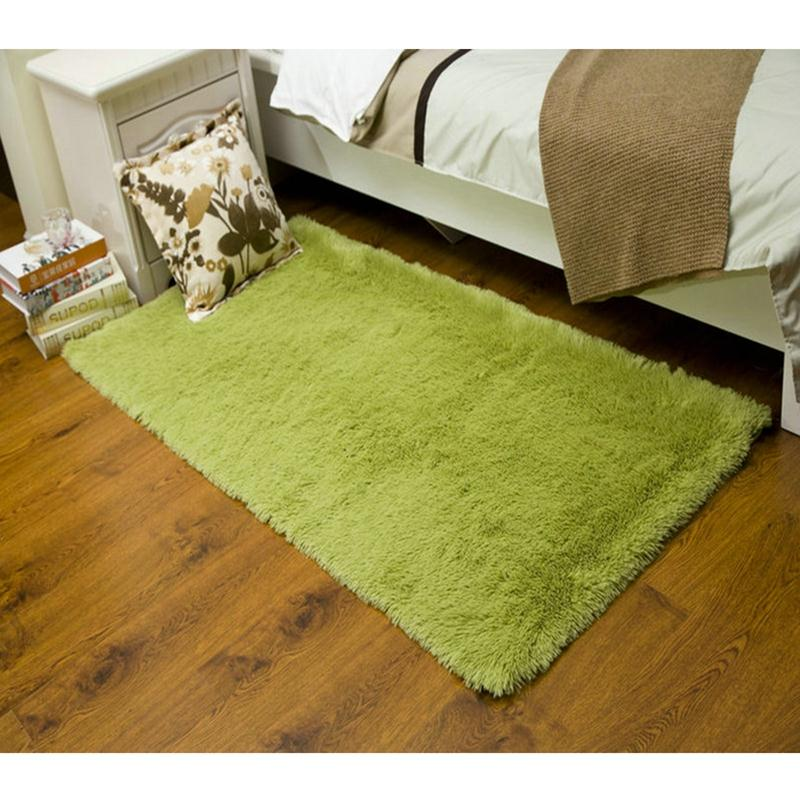 60 120cm Plush Shaggy Soft Carpet Area Rugs Non slip Floor Bed Mats Living  Room Bedroom Tapete Alfombra Home Decor Supplies in Carpet from Home    Garden on. 60 120cm Plush Shaggy Soft Carpet Area Rugs Non slip Floor Bed