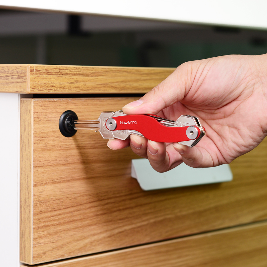 organizador chave inteligente Tipo Pacote : One Key Holder & Two Little Extenter