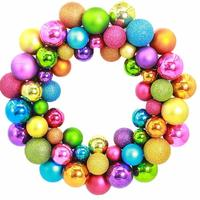 55 Bolas de natal Sinos de Natal Guirlanda Porta Grinalda do natal Ornamento Da Parede Pendurado Casa Decoração Do Partido Drop Shipping ap1129