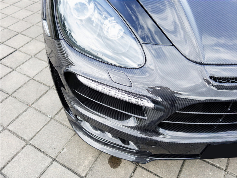 2011-2014 Porsche Cayenne 958 Hamann Style Wide Aero Body Kit CF (16)