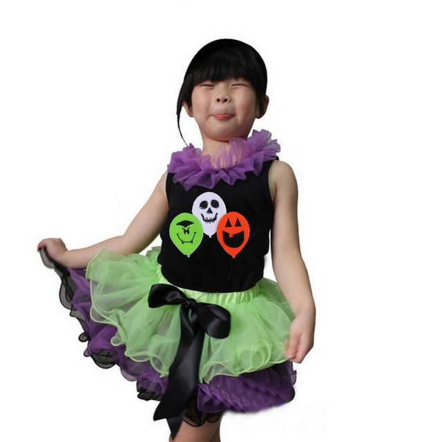 Girl Clothes Lime Purple Black Tutu I'm Not A Good Witch I'm A ...