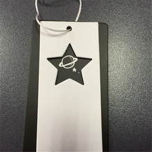 Custom women clothing tag swing /hang tags