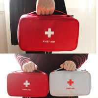 Portable First Aid Emergency Medical Kit Survival Box Medicine Storage Bag For Travel Outdoor Sports Camping Home Medical Tools