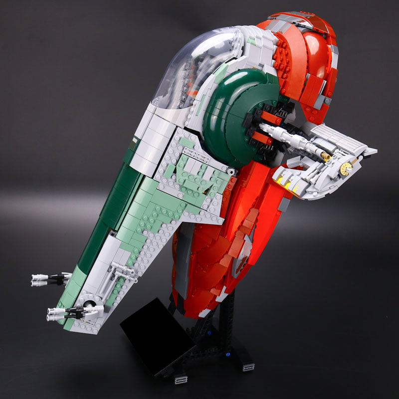 LEPIN 05037 legoinglys Star Series plan UCS The Slave 1 Model 2067pcs Building Block Bricks Toys Compatible 75060 Children Gifts цена
