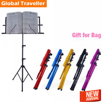 guitar Folding music stand Removable zither guitar violin sax music stand Universal portable general music stand