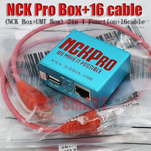 Image 2 - 2019 новейшая оригинальная NCK Pro box NCK Pro 2 box (поддержка NCK + UMT 2 в 1) для Huawei + 16 кабелей
