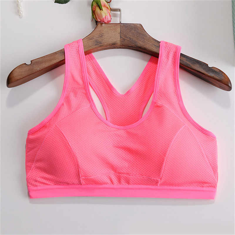 Hot Sale Women Yoga Sports Bra Push Up Stretch Cycling Workout Tank Top short Running Sport Bra Top sports T-shirt for fitness