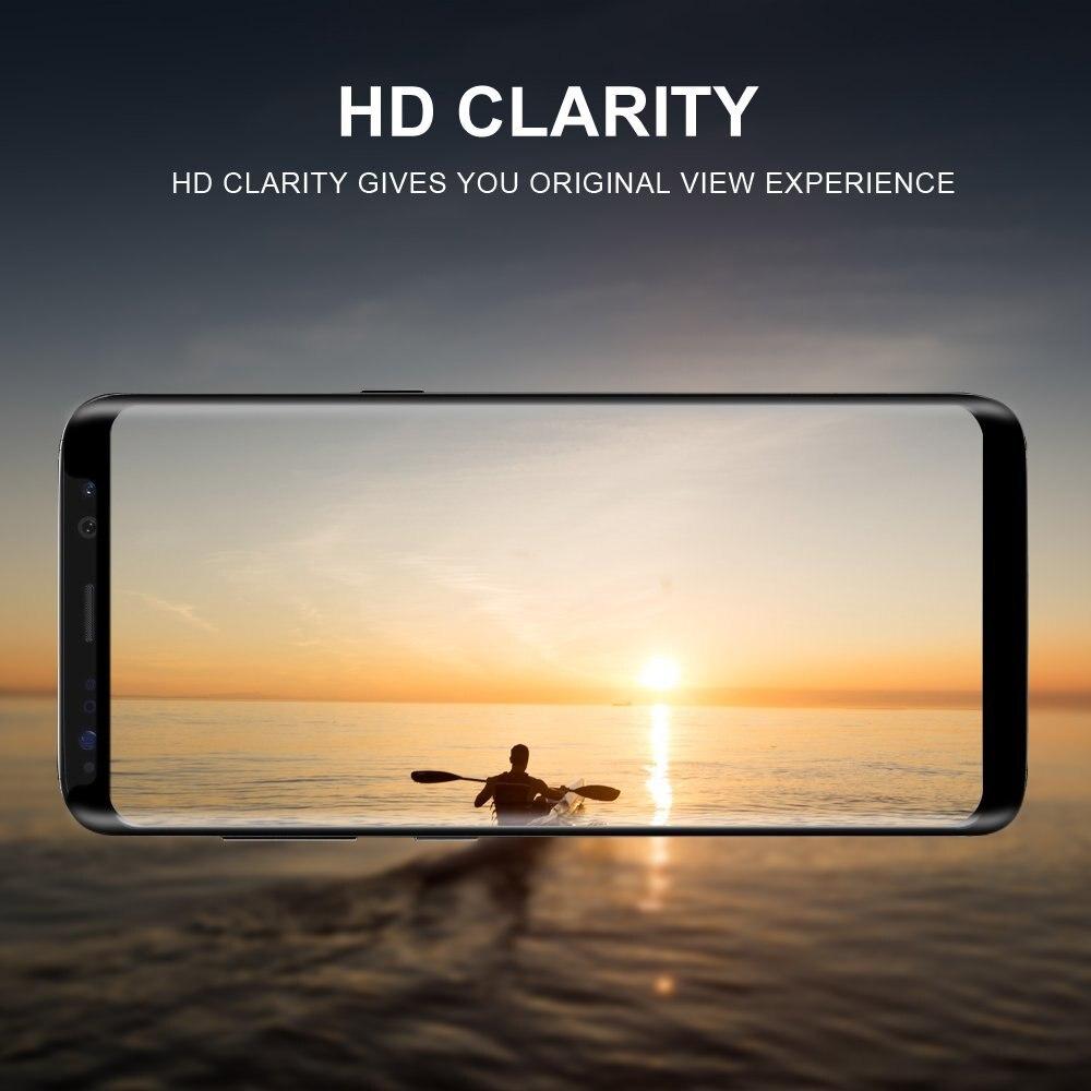 Փոքր տարբերակ 3D Curved Edge Tempered Glass for Samsung - Բջջային հեռախոսի պարագաներ և պահեստամասեր - Լուսանկար 6
