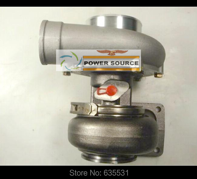 T78 Turbo Turbocharger Intake 4 inches oil cooled v-band compressor ar. 70 turbine ar .1.05 T4 flange Power 700-1000hp (3)