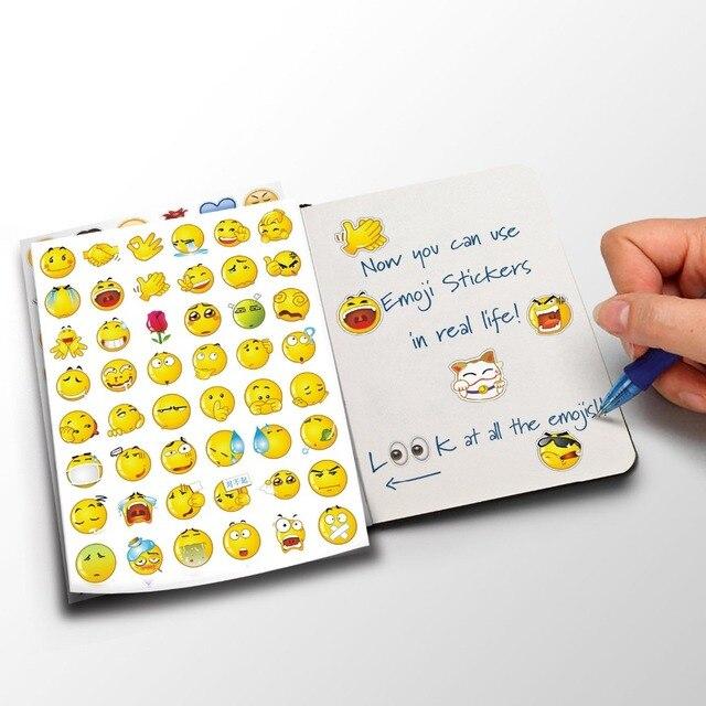 Emoji smile sticker for laptop notebook cute lovely 48 die cut emoji smile sticker not for
