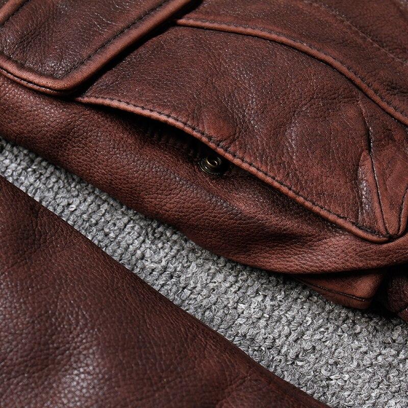 HTB1zuKOlVzqK1RjSZFoq6zfcXXam Brand new winter warm.Classic G1 style mens leather jacket,vintage cowhide Jackets,man genuine leather coat