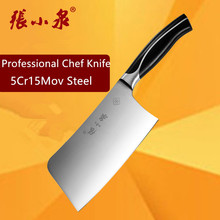 Free Shipping ZXQ 5Cr15Mov Kitchen Chop Bone Slice Dual-purpose Knife Professional Chef Cutting Knives Cut Bone Cooking Knife