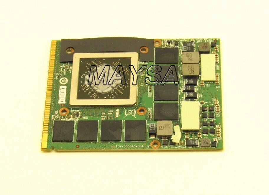 MS-1W0D1 pour MSI GX70 MS-176K pour Radeon HD 8970 M GDDR5 2 Gb carte VGA 109-C60846-00A 100% fonctionne parfaitement