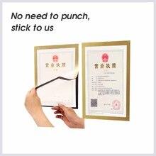 A6 многофункциональная магнитная ПВХ доска прозрачная Настенная картина плакат дисплей документов рамка пластиковый лист бумага конверт