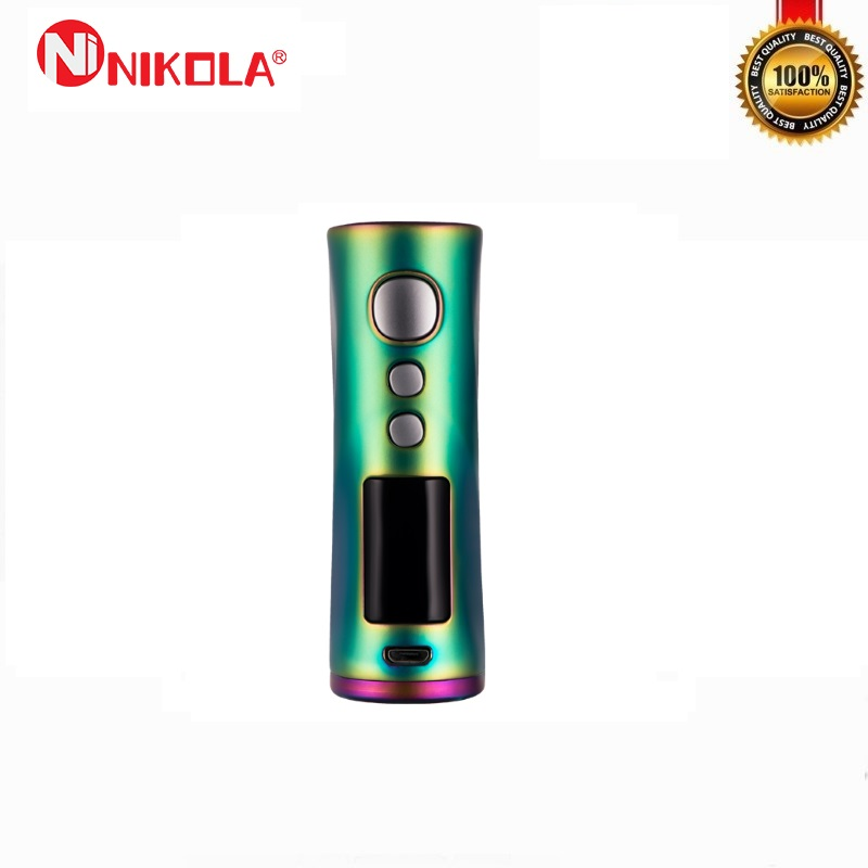 Nikola Medea 218 W caja Mod alimentado por batería Dual 18650 vaporizador de rosca 510 cigarrillos electrónicos VS Vaporesso Mod caja - 5