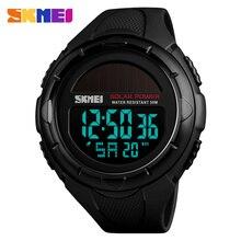 Skmei Relógio Digital Relógios Homens Led Solar Solar Militar Masculino Relógio Homens Relógios De Pulso de Quartzo Sports Watch Relogio masculino